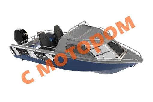 BERKUT M-HT Standart с мотором Yamaha F 60 FETL (L, базовая + 1 цвет)